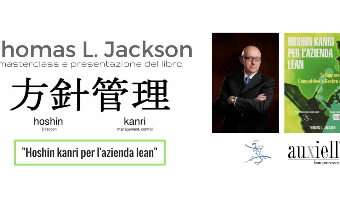 Hoshin kanri – masterclass con Thomas Jackson
