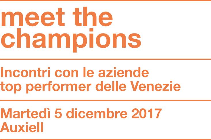 Meet the Champions 2017 – 3°appuntamento
