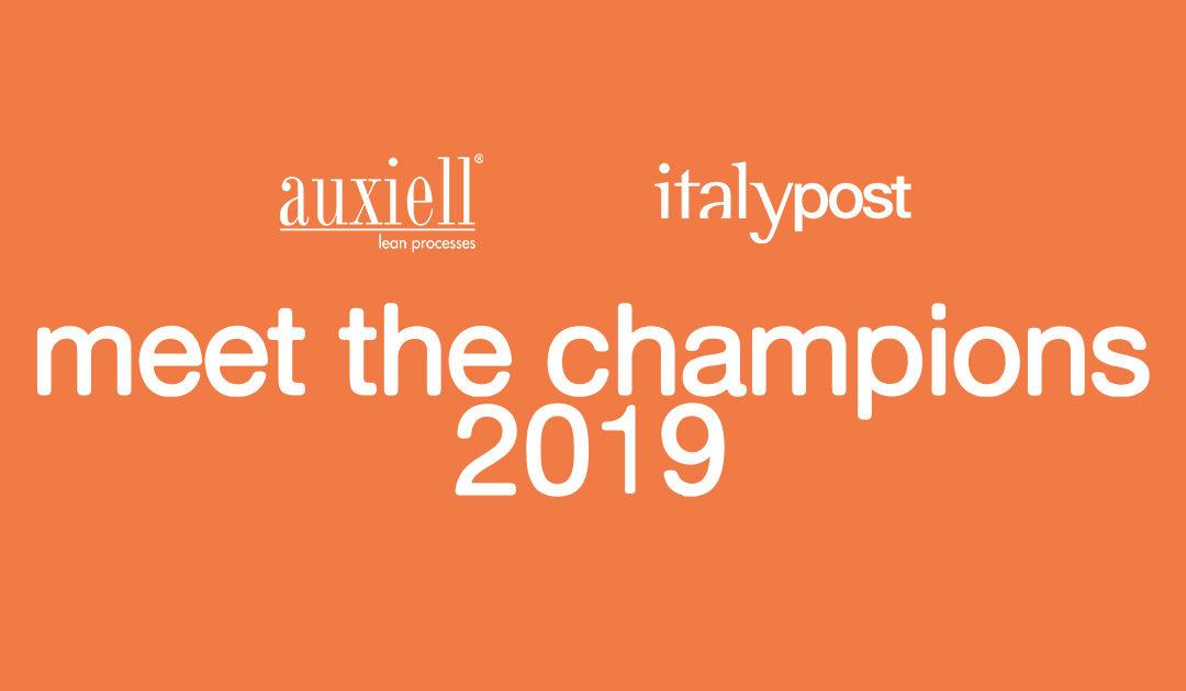 Italypost: Champions 2019